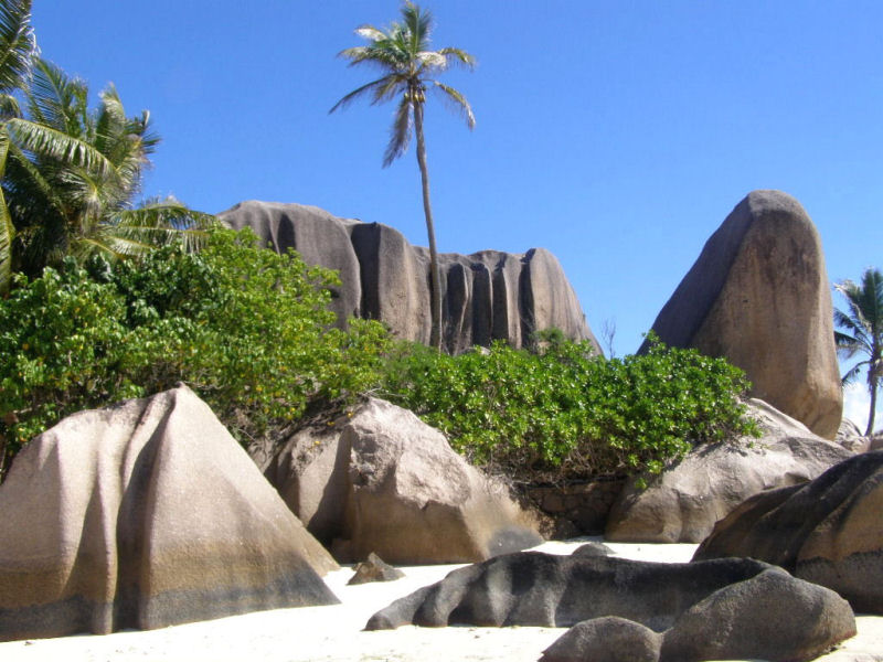 Dream beach Seychelles